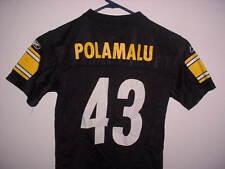 Reebok Pittsburgh Steelers Troy Polamalu Toddler Jersey L Large 7