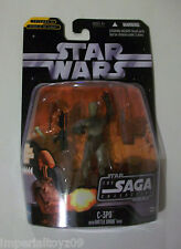 STAR WARS 2006 SAGA COLLECTION C-3PO #017 VARIANT FREE U.S. SHIPPING!!