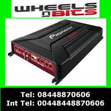 PIONEER gm-a6604 760watt 4 canaux voiture amplificateur 4/3 / 2 haut-parleurs & caisson de basse amp