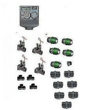 KIT IRRIGAZINE  4 SETTORI CON CENTRALINA ORBIT ULTIMA
