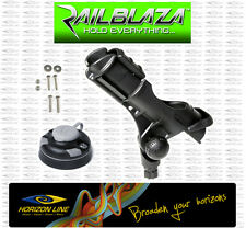 Railblaza Rod Holder II + Starport Fishing. Railblazer Star Port Kayak Angler