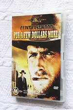 For a Few Dollars More (DVD), R4, Like new (Disc:New), free shipping Aus-wide