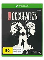 The Occupation Suspense Thriller Role Play Game For Microsoft XBOX One XB1 X