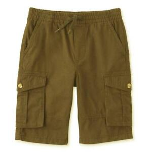 Route 66 Boys' Pull On Cargo Shorts.   Brown or green.  Sizes 12-14  NWT