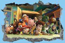 Toy Story,3D,Sticker,Decal,Bedroom,Wall Art,Kids,Mural