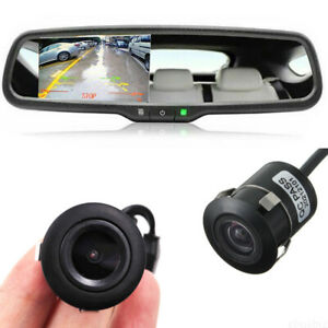4.3'' Rear View Mirror Monitor Camera For Ford Transit: 2003 to 2016 & 2017