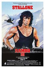 RAMBO III (1988) ORIGINAL MOVIE POSTER  -  ROLLED