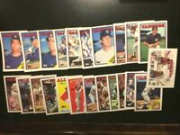 23 TOPPS. 1988 New York Yankees Cards W/TRADED CARDS. MINT-NMMT-FREE SHIPPING