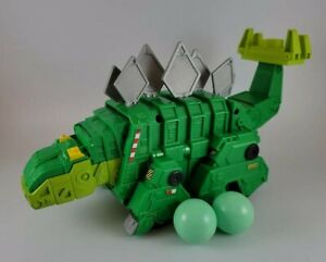 Dinotrux Talking Garby Stegosaurus Truck Figure Speaks  Mattel with 2 Balls