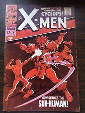 X-Men # 41  (1968 ) Origin & 1st App Grotesk, Origin of Cyclops