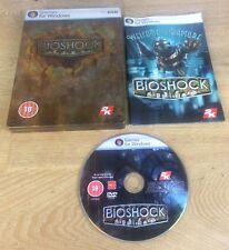 BIOSHOCK 1 Limited Edition in Steel Tin case Pc DVD Rom Steelbook - FAST POST