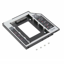 9.5mm Universal SATA 2nd HDD SSD Hard Drive Caddy for CD/DVD-ROM Optical Bay GL
