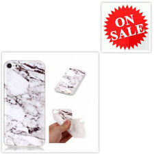 T-Mobile Silicone Case Cover White Pattern Flexible Rubber For iPod Touch 5/6