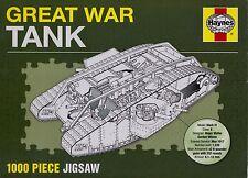 Haynes Great War Tank 1000 Piece Jigsaw BRAND NEW JIGSAW