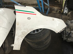 Fiat 500 Cream White Drivers Right Front Wing 2008 2009 2010 2011 2012 2013 2014