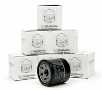1 LOT OF OEM X6 Oil Filter Fits Subaru Impreza Legacy Forester 15208AA100