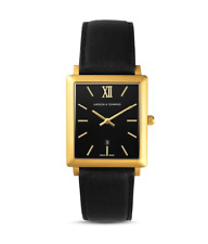 LARSSON AND JENNINGS NORSE 40MM UNISEX MSRP SWISS MADE in Black/Gold