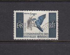 NEW HEBRIDES, FRENCH INSCRIPTIONS: 1963-72 definitives 5fr Bird SG F124 £27, VFU