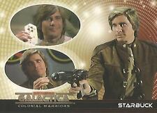 "Battlestar Galactica Colonial Warriors - ""Starbuck"" Promo Card #P1"