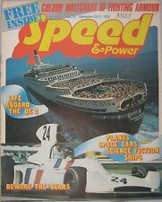 Speed & Power magazine 20 September 1974 Issue 27