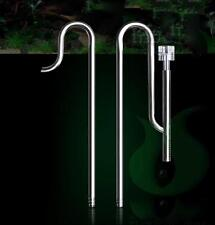 Stainless Steel Planted aquarium water lily pipe inflow outflow skimmer 16/22mm