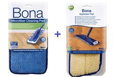 Bona - Reinigungspad + Auftragspad * Cleaning Pad + Applicator Pad * Pad x 2