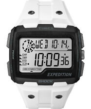 Brand New Timex Men's Expedition Grid Shock Digital Watch White TW4B03900