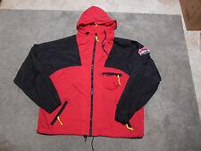 VINTAGE Marlboro Windbreaker Jacket Size Adult Large Coat Red Black Mens 90s