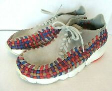 Nike Air Footscape Woven Suede Chukka Rainbow Mens Size 8