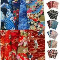 5pcs DIY Assorted Pre Cut Charm 20*25cm Cotton Squares Quilt Fabric Quarter Set