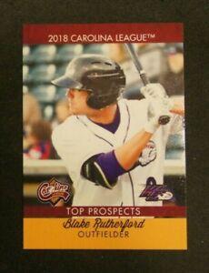 2018 Choice, Carolina League T/P, Winston-Salem Dash - BLAKE RUTHERFORD