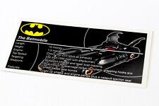 Lego Batman UCS Sticker for Batmobile 7784