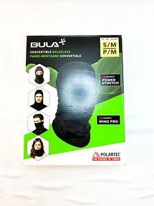 Bula Convertible Balaclava Polartec Power Stretch Wind Pro - Size S/M Black M14E