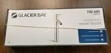 Glacier Bay Single Hole Single-Handle Vessel Bathroom Faucet Chrome 732 443 NEW