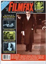 WoW! Filmfax #13 Horror Show Hosts! Boris Karloff! Superman! One Step Beyond!