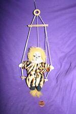 Vintage clown cat trapeze ornament circus