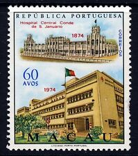 MACAO MACAU 1974 Sao Januario Hospital Centenary Issue SG 523 MNH