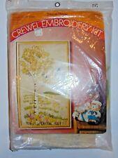 Vintage Pauline Denham Plastic Canvas Kit ''SINGLE BIRCH TREE PICTURE''