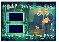 Harry Potter Order of the Phoenix Cinema Film Cell Card CFC7 #020/294 Weasleys