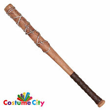 "28"" Prop Barbed Wire Baseball Bat Lucille Negan Halloween Fancy Dress Accessory"