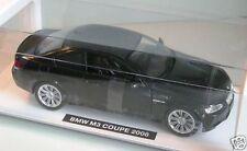 BMW M3 Coupé 2008 noir Neuf Rayons 1:24 Maquette de voiture