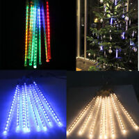 LED Meteor Shower Light New Year Decorations Christmas Tree String Lights