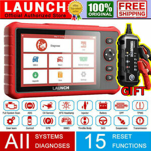 LAUNCH CRP909X OBD2 Car Diagnostic Tool Full Ststem Scanner ABS DPF Reset