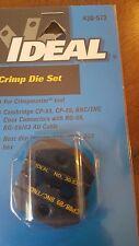 Ideal Crimp Die Set 30 573 For Crimpmaster Tool