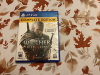 The Witcher 3: Wild Hunt Complete Edition ps4 (tested, Works)