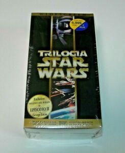 Trilogía Star Wars VHS edición española precintada