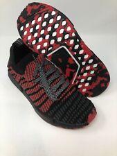 ADIDAS NMD R1 STLT PRIMEKNIT JAPAN D96817 BOOST Size 7 Collegiate Red/Black