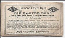 c1900 Unopened Package of Diamand Easter Dyes for Coloring Eggs