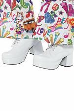 Calzature bianchi per carnevale e teatro