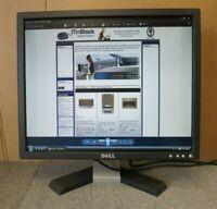 """Dell E196FPF FC998 E Series 19"""" LCD TFT Black Computer Flat Screen Monitor VGA"""